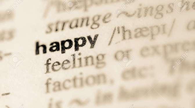 Happiness…